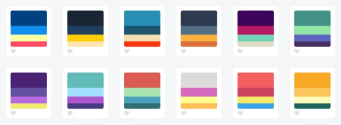 лучшая цветовая гамма для сайта